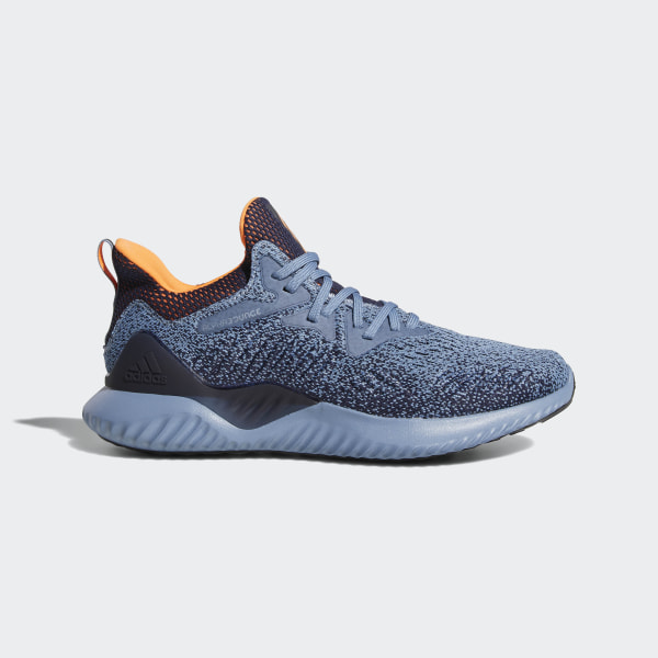 898429be4 Alphabounce Beyond Shoes Raw Grey   Hi-Res Orange   Legend Ink AQ0574