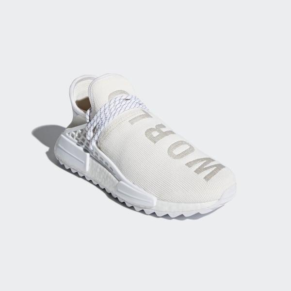 low priced 2925e 15c31 Pharrell Williams Hu Holi NMD BC Shoes Cream White  Cloud White  Cloud  White AC7031
