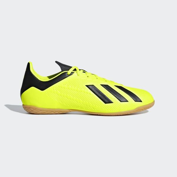 f1549109b85af Chuteira X Tango 18.4 Futsal SOLAR YELLOW CORE BLACK FTWR WHITE DB2484