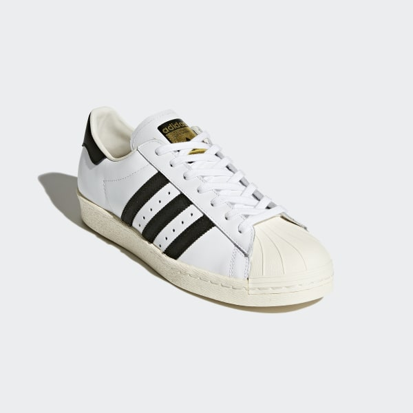 72b86f39205 Superstar 80s Shoes White   Core Black   Chalk White G61070