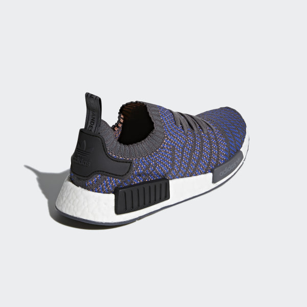 b12f745ba3c NMD R1 STLT Primeknit Shoes Hi-Res Blue   Core Black   Chalk Coral CQ2388