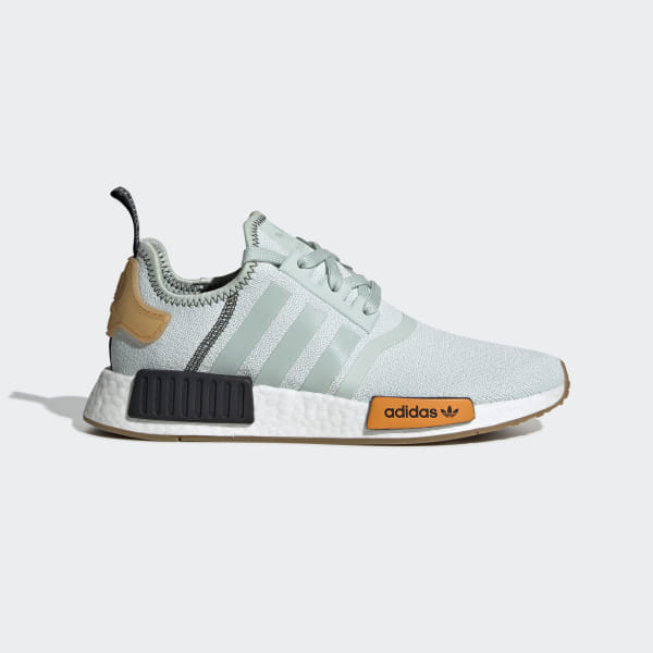 huge inventory 8e075 823cf NMD R1 Shoes Vapour Green   Vapour Green   Bright Gold BD8028