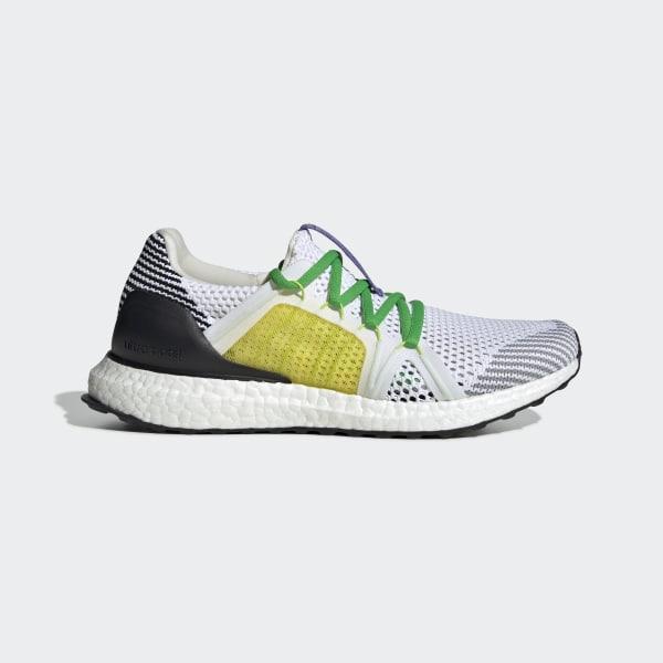 e60b7e26e8a52 Ultraboost Shoes Cloud White   Black White   Fresh Lemon F35900