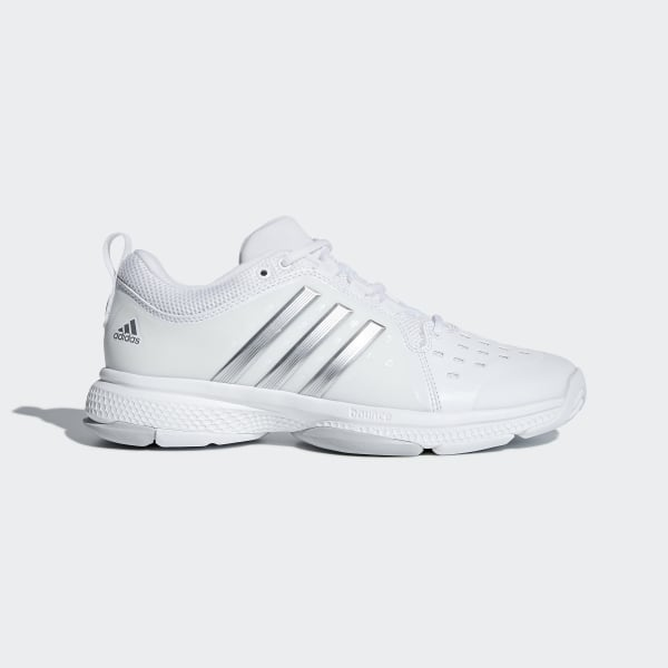huge selection of de61e db820 Barricade Classic Bounce Shoes Cloud White  Silver Metallic  Light Solid  Grey BY2926