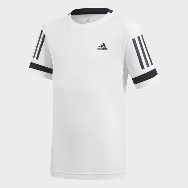 Camiseta Club 3 bandas - Blanco adidas  b9d47be8c68ad