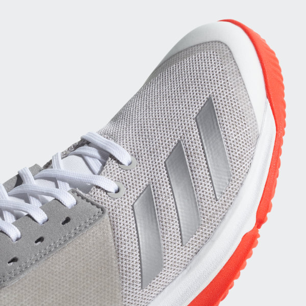 best service 5ecb1 15add Crazyflight Team Shoes Cloud White  Silver Metallic  Grey Two CP8896