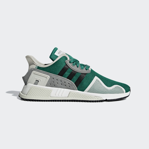 6eb6416c9afd EQT Cushion ADV Shoes Sub Green   Core Black   Grey One BB7179