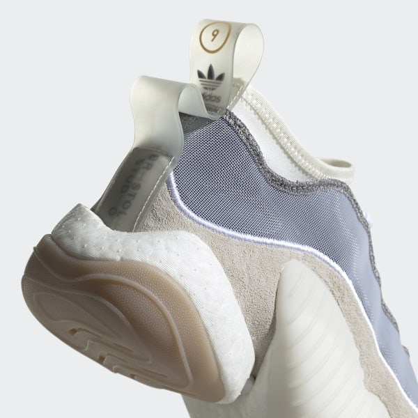 366b3ba2a Bristol Crazy BYW LVL II Shoes Cloud White   Running White   Collegiate  Navy BB7682