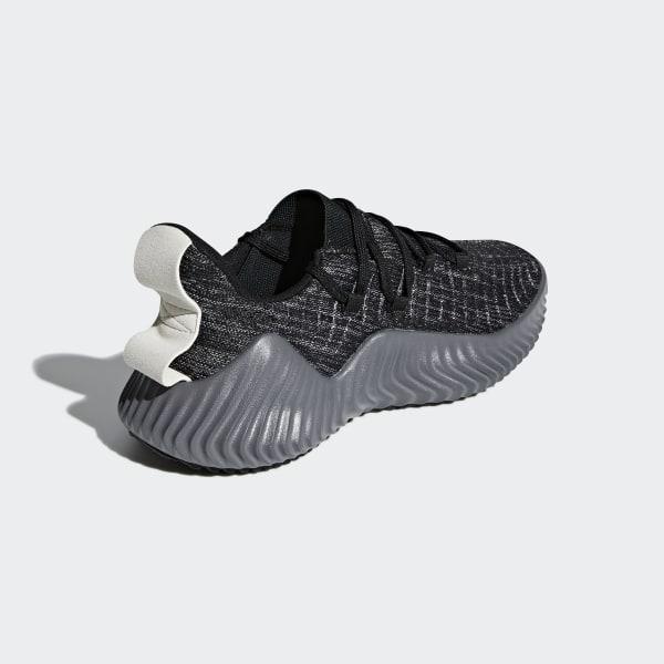 422b42eef59de Alphabounce Trainer Shoes Core Black   Grey Four   Raw White BB9250