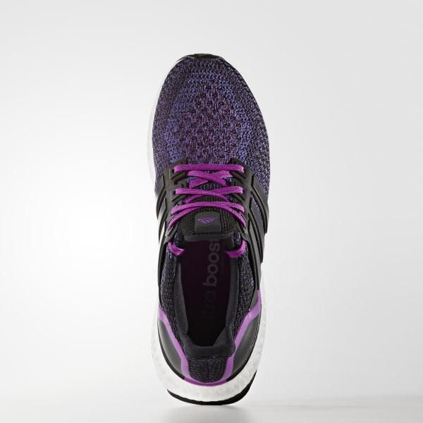 140229501f0e ULTRABOOST Shoes Core Black   Core Black   Shock Purple AQ5935