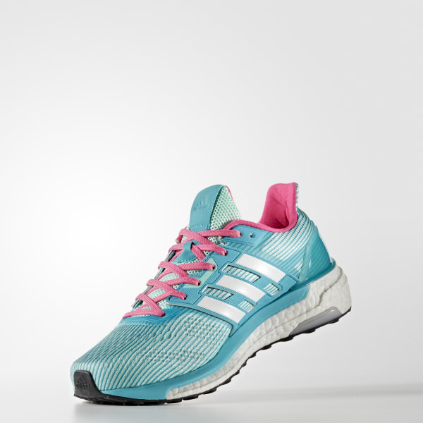 d2e4d669bb008 Supernova Glide 9 Shoes Easy Green   Cloud White   Shock Pink BB6040
