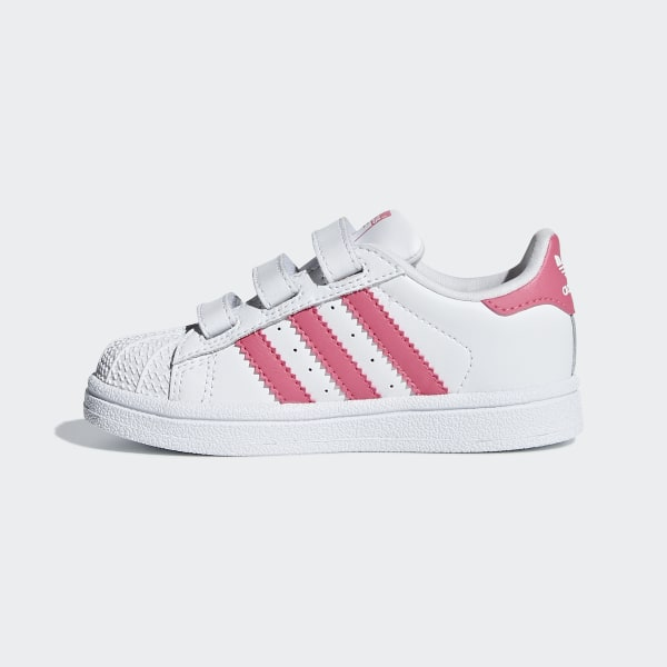 4a19a5cac9c Superstar Shoes Ftwr White   Real Pink   Real Pink CG6638