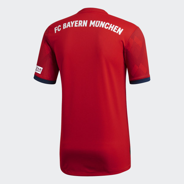0dd84730a FC Bayern Home Authentic Jersey Fcb True Red   Strong Red   White CF5432