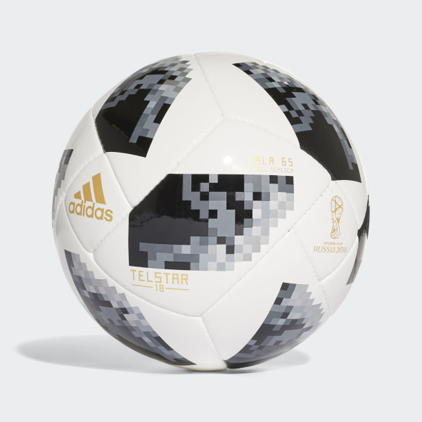 Bola FIFA World Cup Futsal 2018 WHITE BLACK SILVER MET. CE8146 4ee5f86db9876