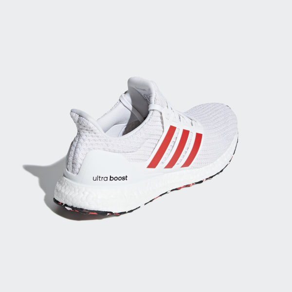 6d3fda4b2d761 Ultraboost Shoes Cloud White   Active Red   Chalk White DB3199