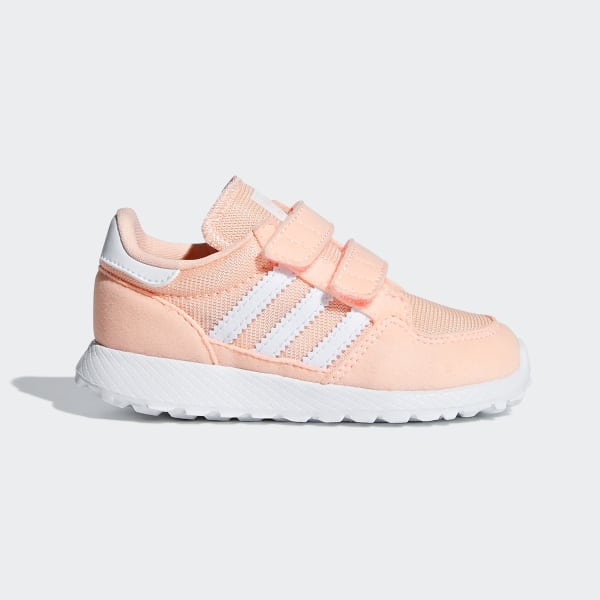 promo code d421e 7ccd6 Forest Grove Shoes Pink  Ftwr White  Clear Orange F34331