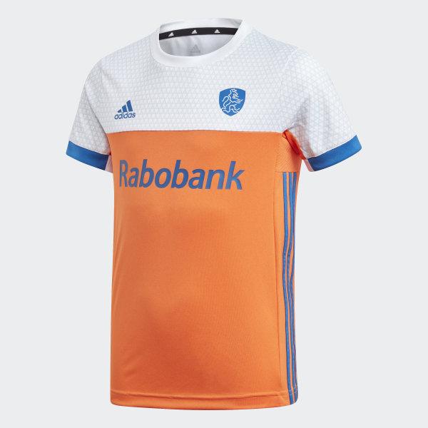 best cheap e271d 94557 Camiseta Países Bajos Super Orange   Eqt Blue BQ6199
