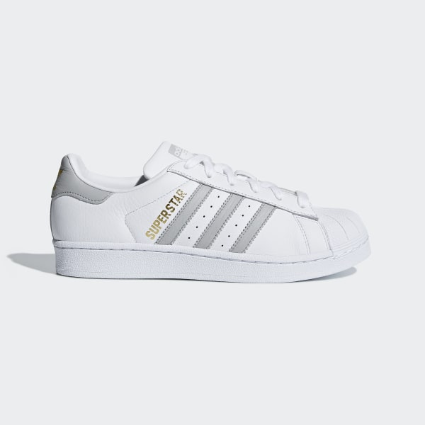 Zapatillas SUPERSTAR W FTWR WHITE GREY TWO F17 FTWR WHITE B42002 ab2d371f02ab6