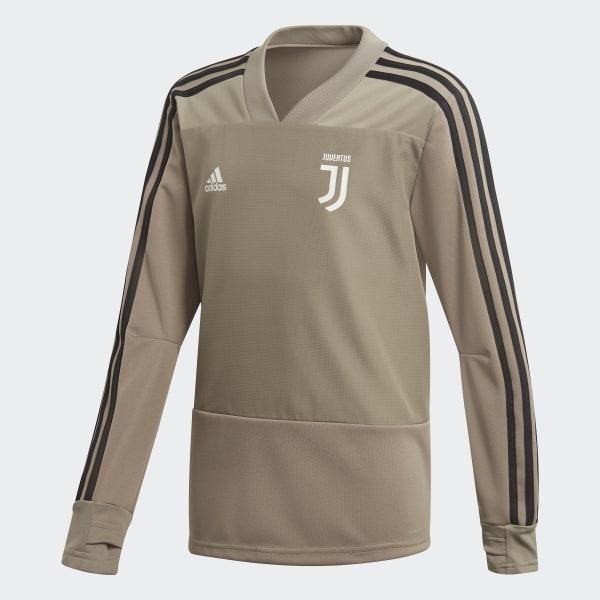 e0731560a023 Juventus Football Club Training Top Brown   Black CW8728
