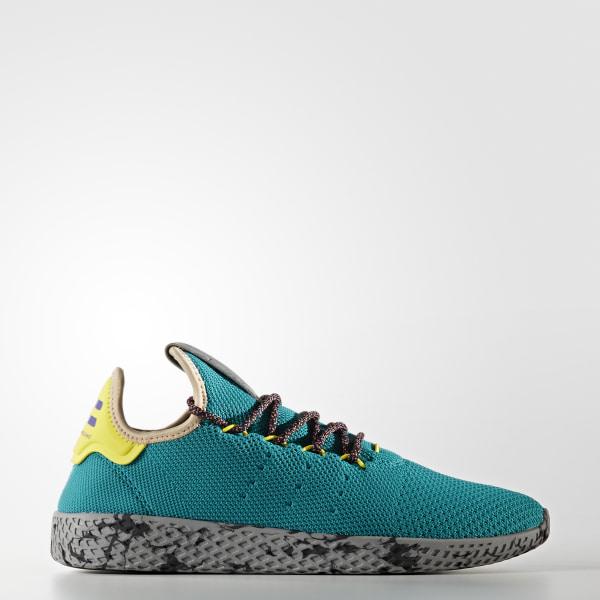 Tênis Pharrell Williams Tennis HU PURPLE NIGHT MARINE CORE BLACK CQ1872 e0e53d304d81f