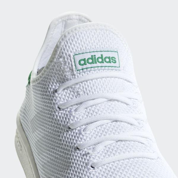 Court Adapt Shoes Cloud White   Cloud White   Green F36417 80ff28946b6