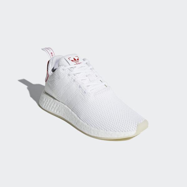 8180debb0 NMD R2 CNY Shoes Ftwr White Ftwr White Scarlet DB2570
