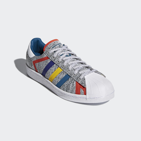 f5f07b8c6eeb Superstar White Mountaineering Shoes Light Grey Heather   Real Teal   Cloud White  AQ0352