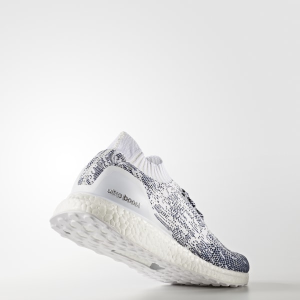 18c3aeab2a246 ULTRABOOST Uncaged Shoes Non Dyed   Cloud White   Collegiate Navy BA9616
