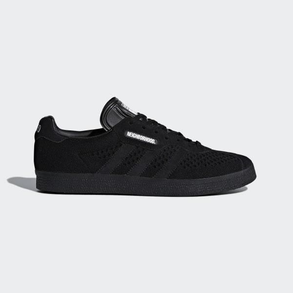 promo code 43e64 02696 NEIGHBORHOOD Gazelle Super Shoes Core Black  Core Black  Core Black DA8836