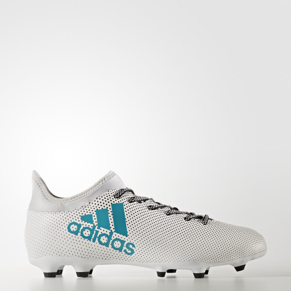 newest collection 3615a b938c Zapatos de Fútbol X 17.3 Terreno Firme FTWR WHITE ENERGY BLUE S17 CLEAR GREY