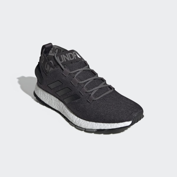 f970768ace0a6 adidas x UNDEFEATED Pureboost RBL Shoes Core Black   Core Black   Core Black  BC0473