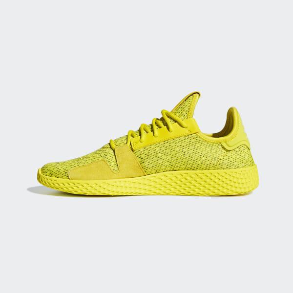 ffdb901917f0e Pharrell Williams Tennis Hu V2 Shoes Shock Yellow   Shock Yellow   Cloud  White DB3329