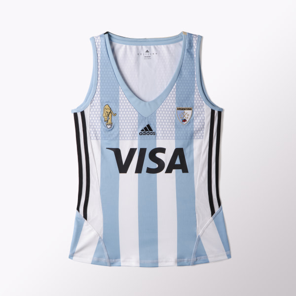 MUSCULOSA DE HOCKEY LEONAS WHITE CLEAR BLUE AZ3476 5141578d5063d