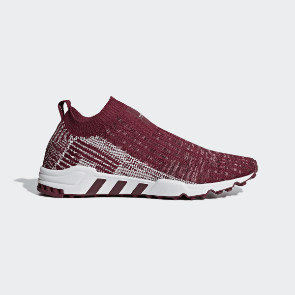 8126f74609f EQT Support Sock Primeknit Shoes collegiate burgundy   off white   crystal  white B37527
