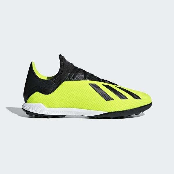 Zapatos de Fútbol X Tango 18.3 Césped Artificial SOLAR YELLOW CORE  BLACK FTWR WHITE 13fdbfc015ba6