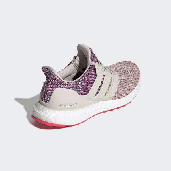 9e14198195bc5 Ultraboost Shoes Clear Brown   Shock Red   Active Blue F36122
