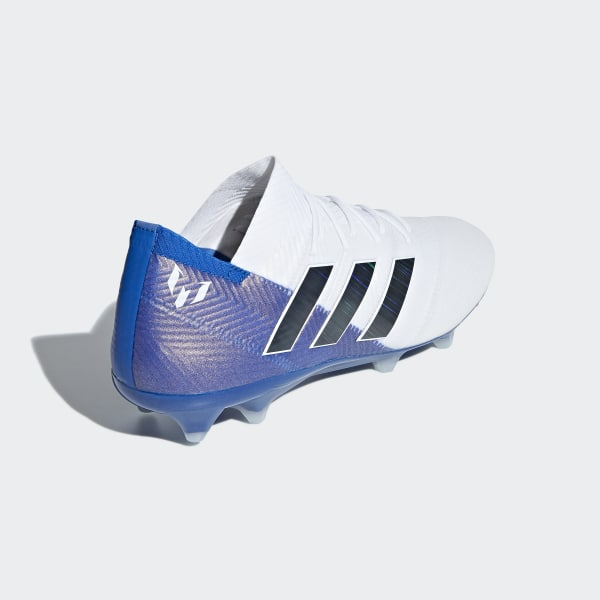 1aec3f1b67ec Nemeziz Messi 18.1 Firm Ground Boots Ftwr White   Core Black   Football Blue  DB2088
