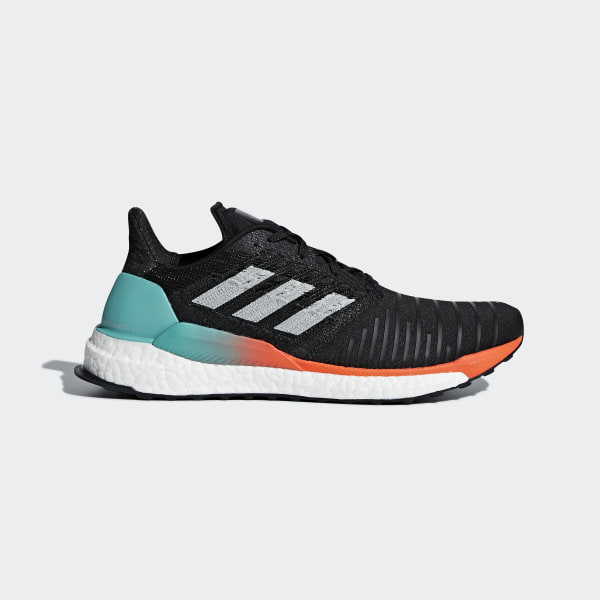 c00fb95b7 SolarBoost Shoes Core Black   Grey Two   Hi-Res Aqua CQ3168