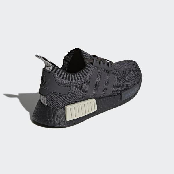 online store 39ea4 4adae NMDR1 Primeknit Shoes Core Black  Utility Black  Grey Five AQ1248