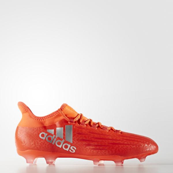adidas X 16.2 Firm Ground Cleats - Orange  4b4a736331062