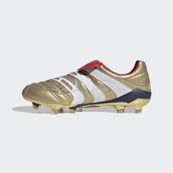 Scarpe da calcio Predator Accelerator Firm Ground Zinédine Zidane Gold Met.    Ftwr White   ba5153f6abc