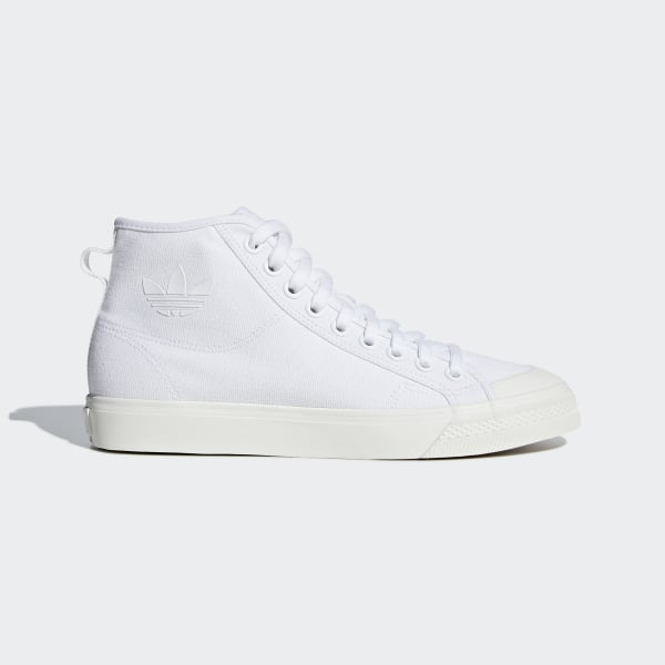 the latest 319f0 47bfc Nizza High Top Shoes Cloud White   Cloud White   Off White B41643