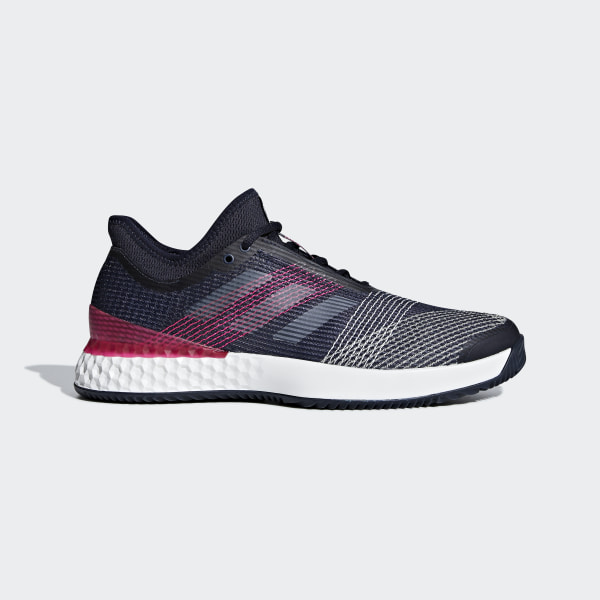 new product 821db 9c69d Adizero Ubersonic 3.0 Clay Shoes Legend Ink  Cloud White  Shock Pink  AH2106