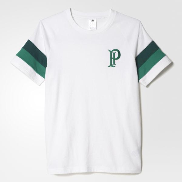 Camiseta Sf Palmeiras WHITE COLLEGIATE GREEN BOLD GREEN S95649 8033ad6a91ef9