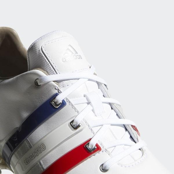 e214d7e18 Tour 360 Boost 2.0 Shoes Cloud White   Scarlet   Silver Metallic AQ0630