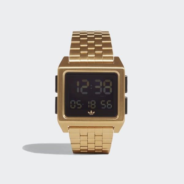 4a15ecfb0ae Relógio ARCHIVE M1 Gold Met.   Black CJ6308