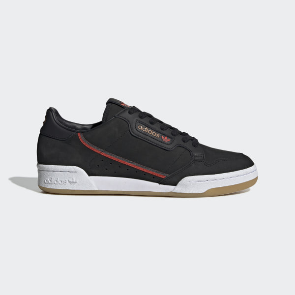 timeless design 854c4 8eb3a Chaussure Originals x TfL Continental 80 Core Black   Grey Six   Gum 3  EE7270