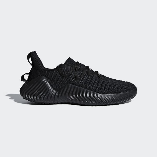 46b17fbc5 Alphabounce Trainer Shoes Core Black   Core Black   Silver Metallic AQ0609