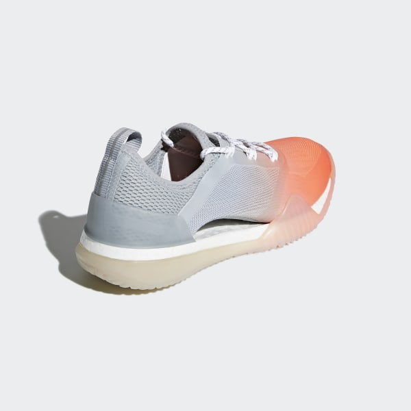 92174e099fb2 Pureboost X TR 3.0 Shoes Glow Orange   Eggshell Grey   Cloud White BB6244
