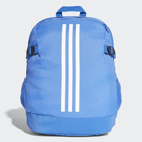 adidas 3 Stripes Power Rugzak Medium blauw | adidas Officiële Shop
